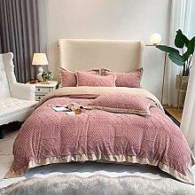 Shinon bedding duvet covers king-Winter thick milk