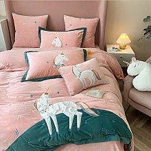 Shinon teddy bear bedding single bed,Winter