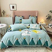 Shinon teddy bear bedding single grey,Winter