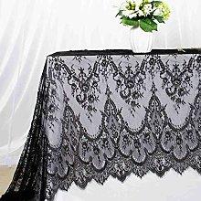 ShinyBeauty Lace Tablecloth 60x120 Inch Vintage