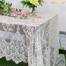 ShinyBeauty Lace-Tablecloth-Rectangular