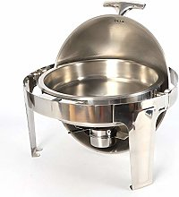 SHIOUCY Round Food Warmer Chafing Dish Warmer