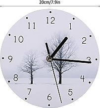 Shipenophy Low Noise Wall Clock Household for