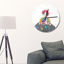 Shipenophy Retro Wall Clock Fashion for Home