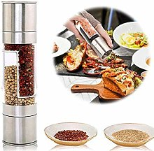 ShirazO Salt and Pepper Grinder, 2 in 1 Manual