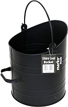 Shire Coal Bucket Black Coal Scuttle Vintage Style