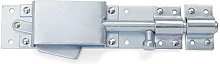 Shires Auto Door Bolt (One Size) (Silver)