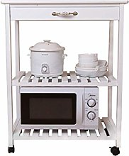 ShiSyan Kitchen Rack Solid Wood Microwave Oven