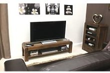 Shiva Walnut Low TV Cabinet