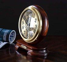 SHJMANPA Mantel Clock Table Clock with Quartz