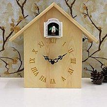 SHJMANPA Mantel Clock, Wooden Mantle Clock for
