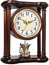 SHJMANPA Mantle Clock, Desk Pendulum Clock with