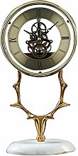 SHJMANPA Mantle Clock, Home Decorative Mantel