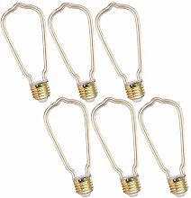 SHKUU LED Transparent Tube Light Bulb 4W Not