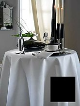 SHL Plain 100% Polyester Christmas Dining Table