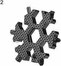 SHM-MM Tools Kits Creative Snowflake 19-in-1 Metal