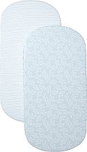Shnuggle Air Cot Bedding - Blue