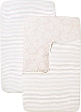 Shnuggle Air Crib Bedding - Pink