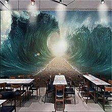 Shock Aesthetic Waves Tsunami Tv Sofa Backdrop