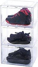 Shoe Box Stackable Shoe Storage Boxes Magnetic