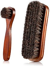 Shoe Brush Boot Brush Polish Brushes Kit, Horse
