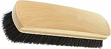 Shoe Brush Horsehair Brushes Wooden Soft for