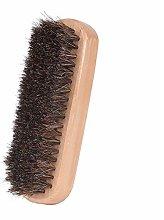 Shoe Brush Premium Horsehair Shoe Shine Brush Shoe