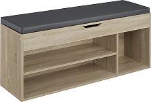 Shoe cabinet Natalya - wood decor
