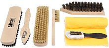 Shoe Care Kit I - Natural Wood Shoe Shine Brushes