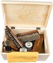Shoe Care Pinewood Box -Milano- Premium 100%