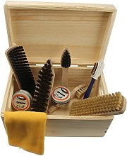 Shoe Care Pinewood Box -Verona- with TRG shoe