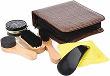 Shoe Cleaning Brushes Tools Polish Kit Boot High