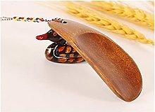 Shoe Horn 2pcs Solid Wood Shoehorn Wooden Shoe