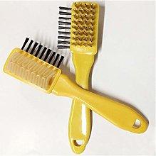 Shoe polish brushes 3 Sides Cleaning Brush Rubber