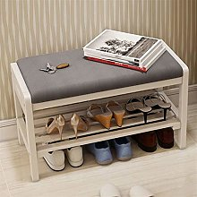 Shoe Rack 2-Layer Replacement Shoe Cabinet Solid