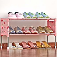 Shoe Rack, 2-Layer Shoe Rack Can Store 9 Pairs of