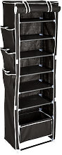 Shoe rack Irene - black