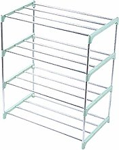 Shoe Rack, Stackable Shoe Tower Standing Shelves,