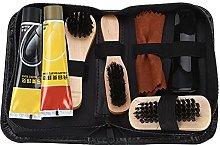 Shoe Shine Care Kit, 8PCS Shoe Shine Care Travel