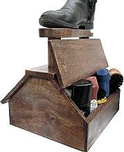 Shoe Shine Freestanding Cabine