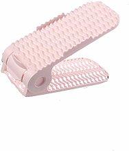 Shoe Slots 10 Pcs Pink Lightweight Plastic Shoe