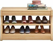 Shoe Storage Rack Wooden Shoe Cabinet With 2