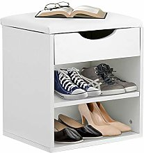 Shoes Storage Bench, Modern Shoe Organizer Seat