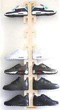 shoewallski - Reverse Cactus Shoe Rack