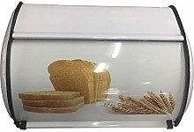 SHOH Bread Bin Deluxe Roll Top Copper Space-Saving