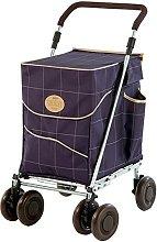 Sholley Deluxe Shopping Trolley 4 (6) Wheels,
