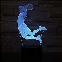 Shoot at The Basketball Table Lamp LED USB Touch