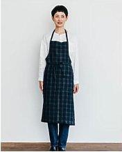 shop fog linen - 92 x 97cm Linen Deep Green James