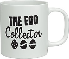 Shopagift The Egg Collector Easter White 10oz
