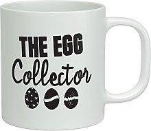 Shopagift The Egg Collector Easter White 10oz